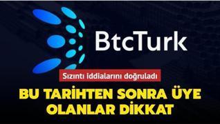BTC Türk sızıntı iddialarını doğruladı