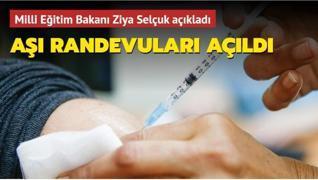 Milli Eğitim Bakanı Selçuk açıkladı... 40 yaş üzeri öğretmenler için aşı randevuları açıldı