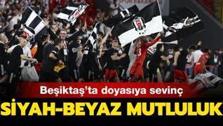 Siyah-beyaz mutluluk... Beşiktaş'ta kupa sevinci