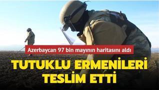 Azerbaycan mayın haritaları karşılığında tutuklu Ermenileri iade etti