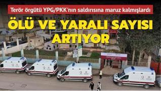 Terör örgütü YPG/PKK'nın saldırısına maruz kalmışlardı