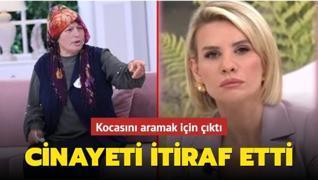Esra Erol'da inanılmaz anlar! Kocasını aramak için çıktığı canlı yayında cinayeti itiraf etti
