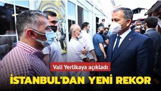 'İstanbul aşılamada yeni bir rekor kırdı'