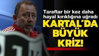 Beşiktaş'ta Sergen Yalçın depremi