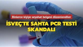 İsveç'te sahta PCR testi skandalı... İnceleme başlatıldı