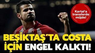 Beşiktaş'ta Diego Costa için engel kalktı