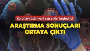 Araştırma sonuçları korkuttu! Koronavirüsün yeni yan etkisi keşfedildi