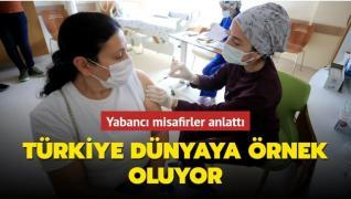 Türkiye koronavirüs aşılamasındaki başarısıyla dünyaya örnek oluyor