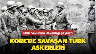1950 yılında Kore'de savaşan Türk askerleri