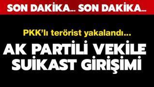 AK Partili vekil ve kardeşine suikast girişimi...