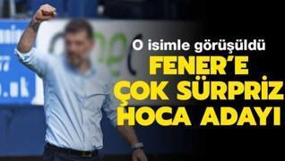 Fenerbahçe'de çok sürpriz hoca adayı