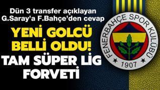 Dün 3 transfer açıklayan G.Saray'a F.Bahçe'den cevap! İşte yeni golcü...