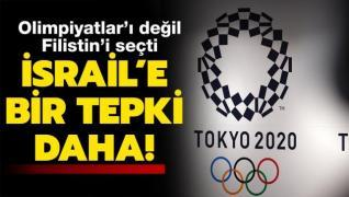 Olimpiyatlar'da İsrail'e bir tepki daha! Filistin'i seçti