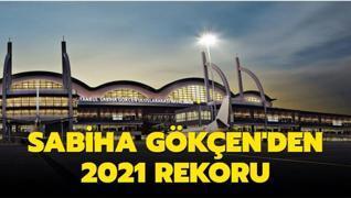 Sabiha Gökçen'den 2021 rekoru
