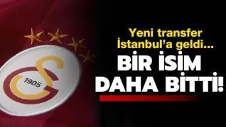 G.Saray'ın yeni transferi İstanbul'a geldi!