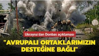Ukrayna'dan Donbas açıklaması