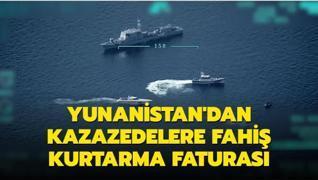 Yunan Sahil Güvenliğinden fahiş sığınmacı faturası