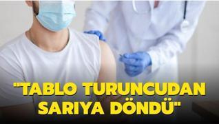 İstanbul'da aşılama tablosundan sevindiren haber: Turuncudan sarıya döndü