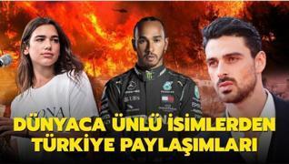 Dua Lipa ve Michele Morrone'dan Türkiye mesajı