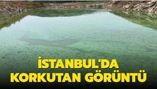 Sazlıdere Barajı'nın görüntüsü vatandaşları tedirgin etti