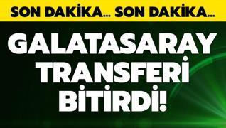 G.Saray bir transferi daha bitirdi!