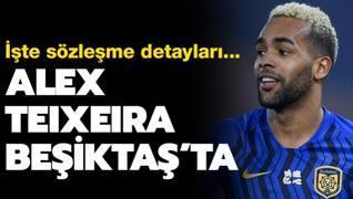 Alex Teixeira Beşiktaş'ta! İşte sözleşme detayları...