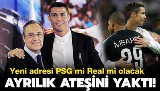 Dış haber: Ayrılık ateşini yaktı! PSG mi Real Madrid mi?