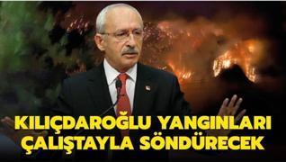 Kılıçdaroğlu yangınları çalıştayla söndürecek