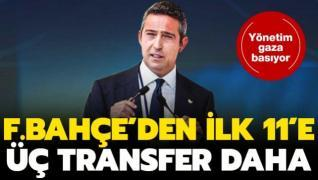 Fenerbahçe'de ilk 11'e 3 transfer daha geliyor