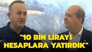 KKTC Cumhurbaşkanı Tatar ve Bakan Çavuşoğlu'ndan önemli açıklamalar