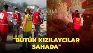 Türk Kızılay Genel Başkanı Kınık'tan orman yangınlarına ilişkin açıklama