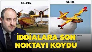Bakan Varank yangın uçakları konusuna noktayı koydu: Israrla insanları aldatmaya çalışıyorlar
