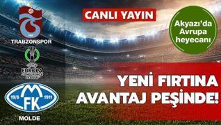 CANLI: Trabzonspor-Molde