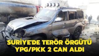 Suriye'de terör örgütü YPG/PKK 2 can aldı