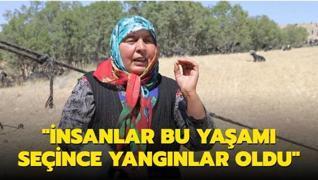 Yörük kadını Pervin Çoban Savran'ın sözleri gündem oldu: İnsanlar bu yaşamı seçince yangınlar oldu