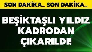 Beşiktaş'ta maça saatler kala Rosier şoku