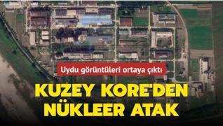 Uydu görüntüleri ortaya çıktı... Kuzey Kore'den nükleer atak