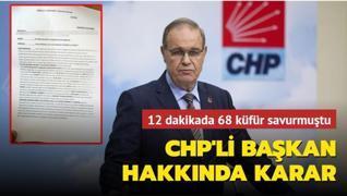 CHP, Fethiye Belediye Başkanı Karaca'yı disipline sevk etti
