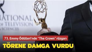 73. Emmy Ödülleri'nde 'The Crown' rüzgarı... Törene damga vurdu