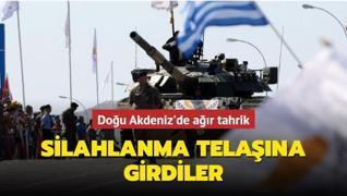 Doğu Akdeniz'de ağır tahrik... GKRY silahlanma telaşına girdi