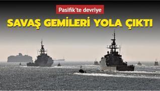 Pasifik'te İngiliz devriyesi... 2 savaş gemisi yola çıktı