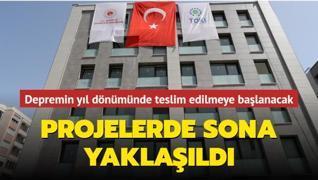 Projelerde sona yaklaşıldı... İzmir depreminin yıl dönümünde teslim edilmeye başlanacak