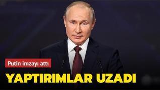 Putin imzayı attı: Yaptırımlar uzadı