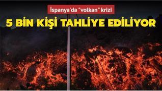 İspanya'da 'volkan' krizi... 5 bin kişi tahliye ediliyor