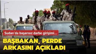 Sudan'da başarısız darbe girişimi... Başbakan, perde arkasını açıkladı