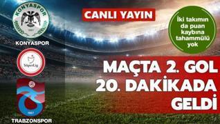Maçta 2. gol 20. dakikada geldi | CANLI