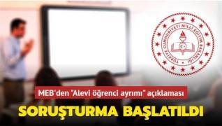 MEB'den 'Din dersinde Alevi sorgusu' iddialarına soruşturma