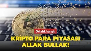 Kripto para piyasası allak bullak! Ortalık karıştı