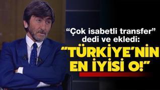 Fener'in yeni yıldızını övdü: Türkiye'nin en iyisi o