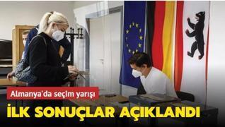 Almanya'da seçim yarışı